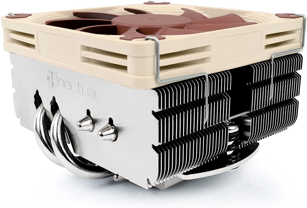 Noctua NH-L9X65, Premium L-Type Low Profile CPU Cooler, Air Cooler (65mm, Brown)