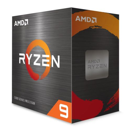AMD Ryzen 9 5900X CPU, AM4, 3.7GHz (4.8 Turbo), 12-Core, 105W, 70MB Cache, 7nm, 5th Gen, No Graphics, NO HEATSINK/FAN