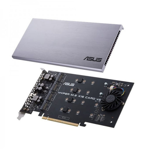 Asus Hyper M.2 x16 Card V2, Connect 4 x PCIe 3.0 M.2 SSDs through the PCIe x8 or x16 slot, I/O Device