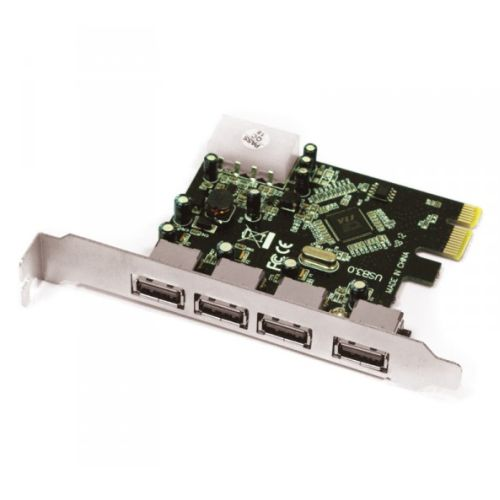 Approx (APPCIE4P) 4-Port USB 3.0 Card, PCI Express