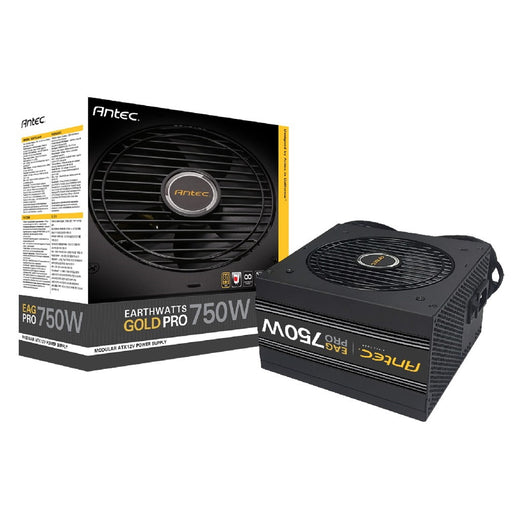 Antec EarthWatts Gold Pro 750W 120mm Silent Fan 80 PLUS Gold Semi Modular PSU