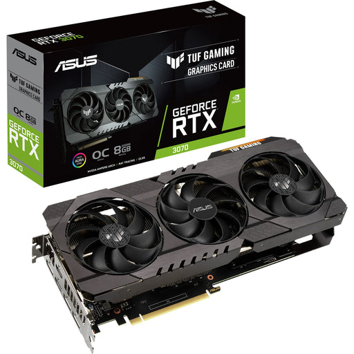 ASUS GeForce RTX 3070 TUF nVidia Graphics Card 8GB OC GPU