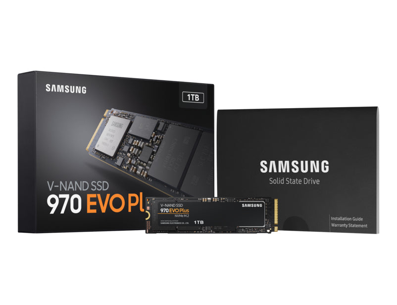 Samsung 970 EVO PLUS 1TB M.2 PCIe High Performance NVMe SSD/Solid State Drive