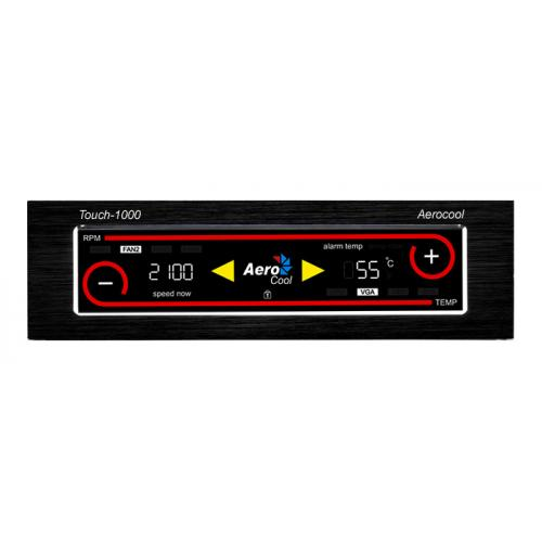Aerocool Touch 1000 4 Channel LCD TouchScreen Fan Controller