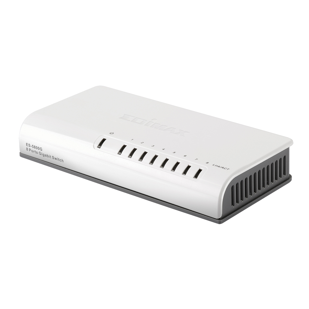 EDIMAX ES-5800G Gigabit 8 Ports Dektop Switch
