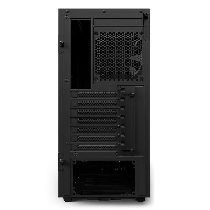 NZXT H500 – Compact ATX Mid-Tower PC Gaming Case – Tempered Glass Panel – Water-Cooling Ready - Black - 2018 Version