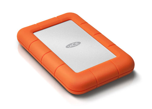 LaCie 2TB Rugged USB-C + USB 3.0 Portable Hard Drive (9000298)