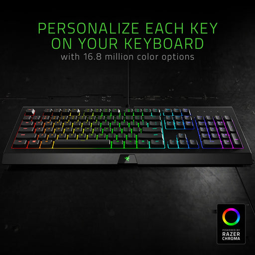 Razer Cynosa Chroma Gaming Keyboard with Razer Chroma RGB Lighting