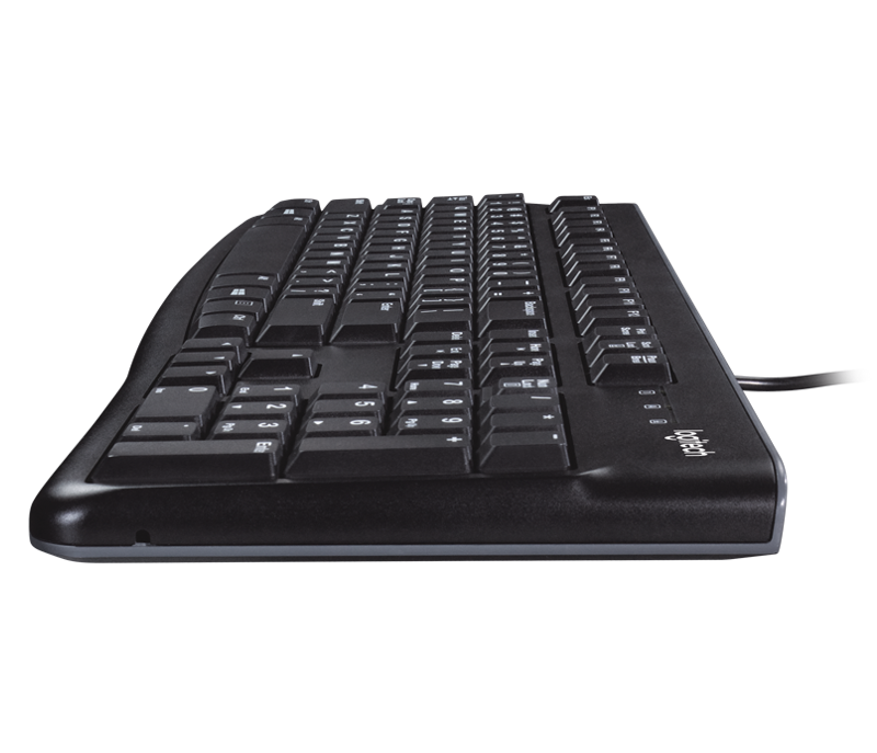 Logitech Desktop MK120 Wired Keyboard and mouse set - wired