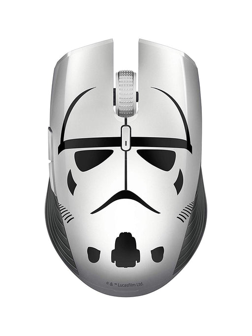 Razer Atheris Stormtrooper Edition, 350-Hour Battery Life, 7200 DPI Optical Sensor, 2.4 GHz Adaptive Frequency Technology, Ambidextrous Ergonomic Gaming Mouse