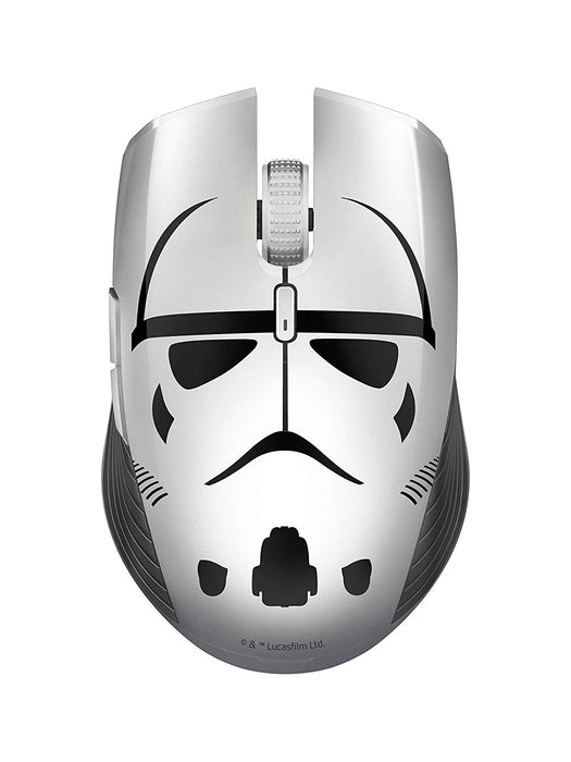 Razer Atheris Stormtrooper Edition, Star Wars 350-Hour Battery Life, 7200 DPI Optical Sensor, 2.4 GHz Adaptive Frequency Technology, Gaming Mouse