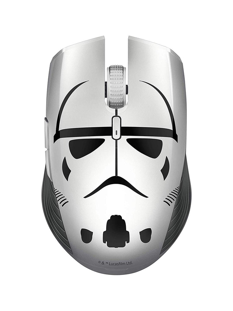 Razer Atheris Stormtrooper Edition, 350-Hour Battery Life, 7200 DPI Optical Sensor, 2.4 GHz Adaptive Frequency Technology, Gaming Mouse