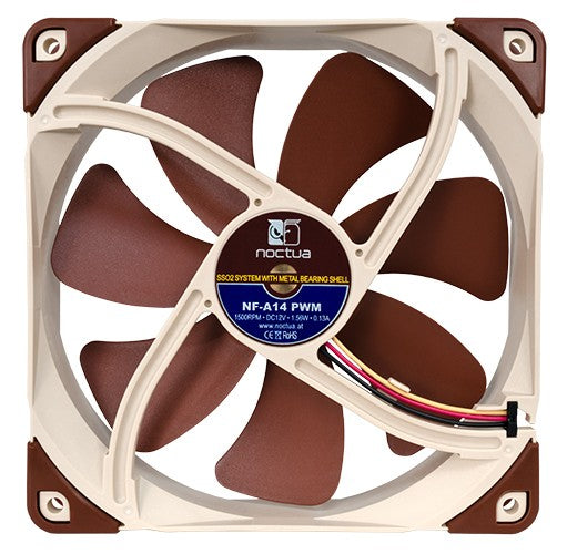 Noctua NF-A14 PWM 140mm Premium Case Fan