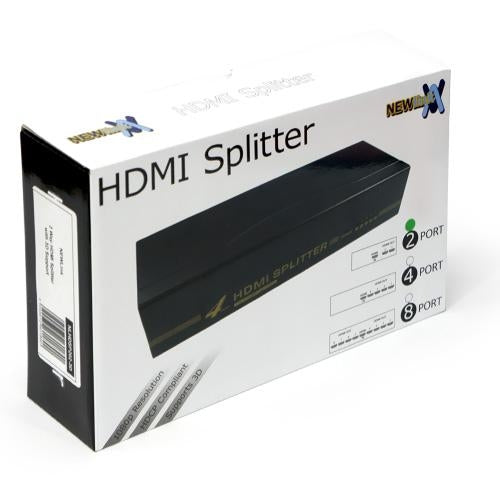 NEWLink HDMI Splitter 2 Port (1 To 2 HDMI Duplicator)