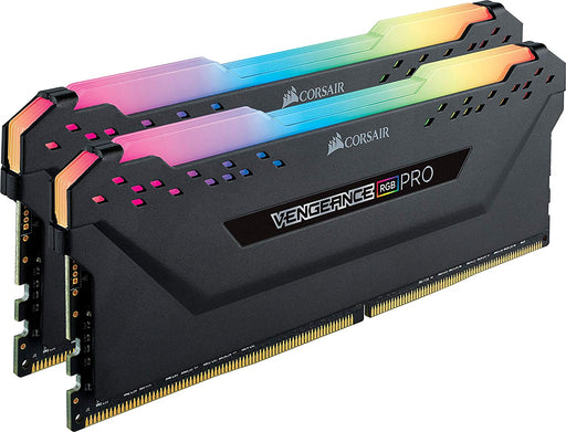 Corsair Vengeance RGB PRO 16 GB (2 x 8 GB) DDR4 3600 MHz C18 XMP 2.0 Enthusiast RGB LED Illuminated Memory Kit - Black