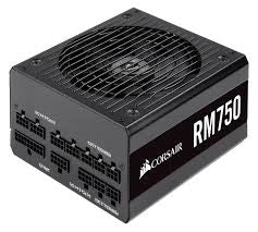 Corsair 750W RM Series RM750 PSU, Rifle Bearing Fan, Fully Modular, 80+ Gold