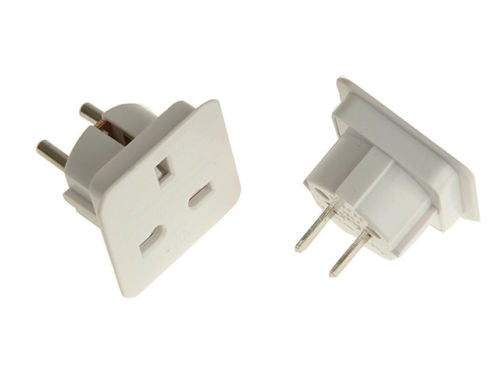 SMJ - Worldwide Travel Adaptor - Pack Of 2 - SMJTADWWC