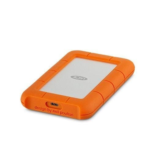 LaCie Rugged USB-C 1 TB External HDD - USB 3.1 Gen 1 - USB