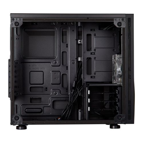 Corsair Carbide Series SPEC-05 Gaming Case with Acrylic Window, ATX, 1 x 12cm Red LED Fan