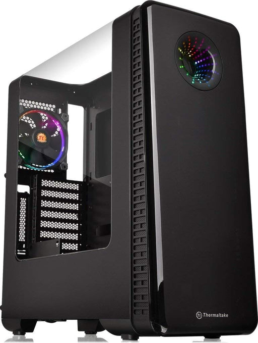 Thermaltake CA-1H2-00M1WN-01 View 28 RGB Riing Fan Edition Case With Curved Side Window