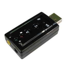 Epsilon 7.1 Sound USB 3D Stereo Audio Adaptor