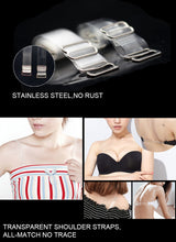 Load image into Gallery viewer, Elastic Transparent Bra Strap