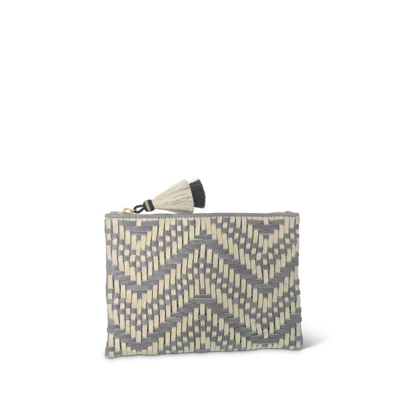 Tresco Small Pouch - Chalk & Smoke