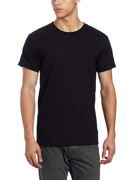 Circular Knit Tee Shirt - Black
