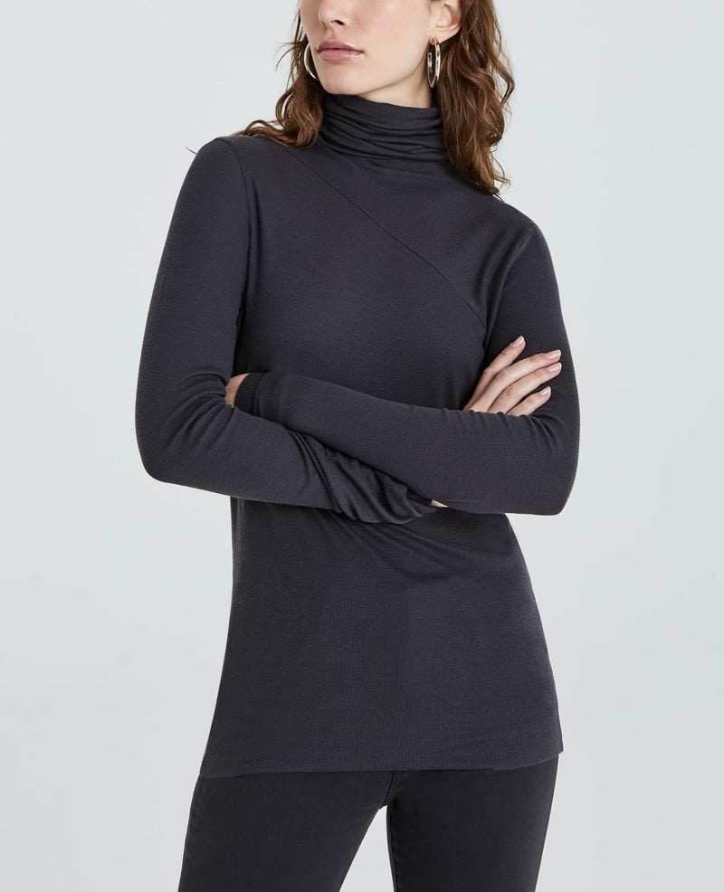 Chels Turtleneck - Night Shade - JL+KO