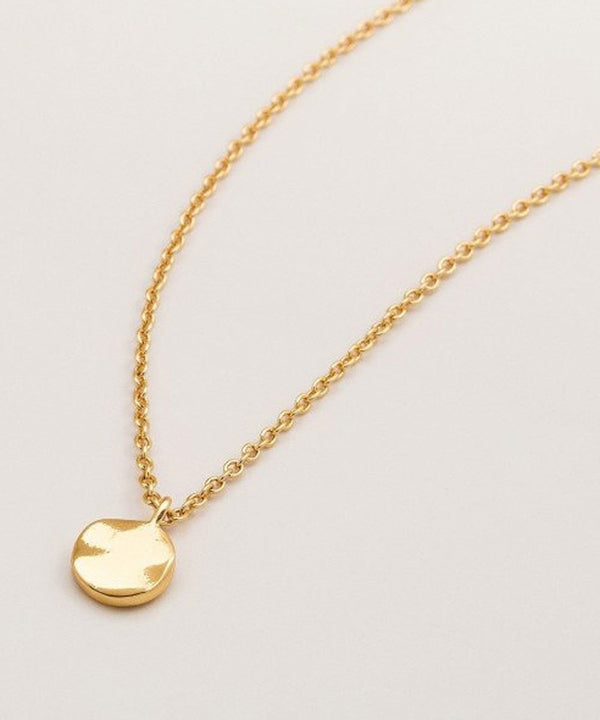 Chloe Charm Adjustable Necklace - Gold