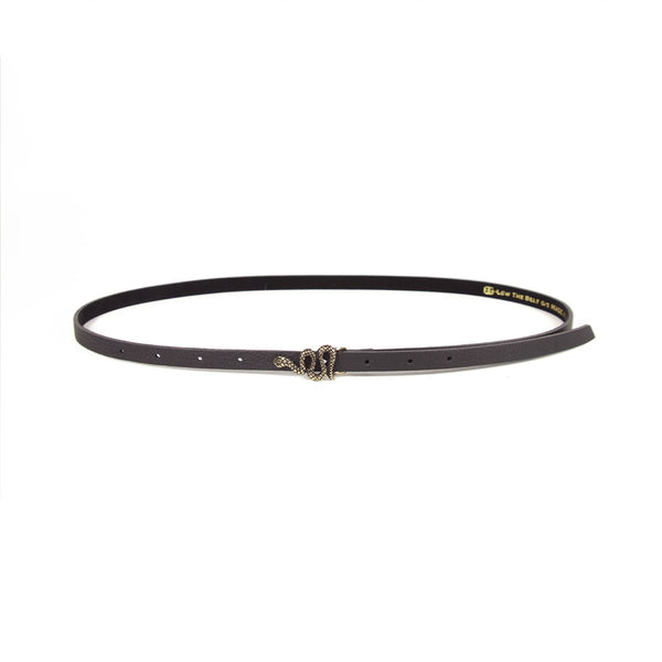 Cleo Black + Brass Belt