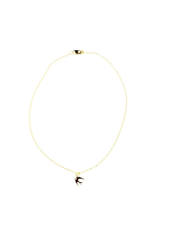 Fly Away Necklace - Gold + Diamond - JL+KO