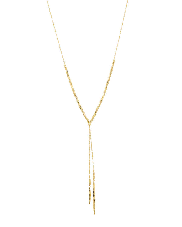 Laguna Adjustable Necklace - Gold - JL+KO