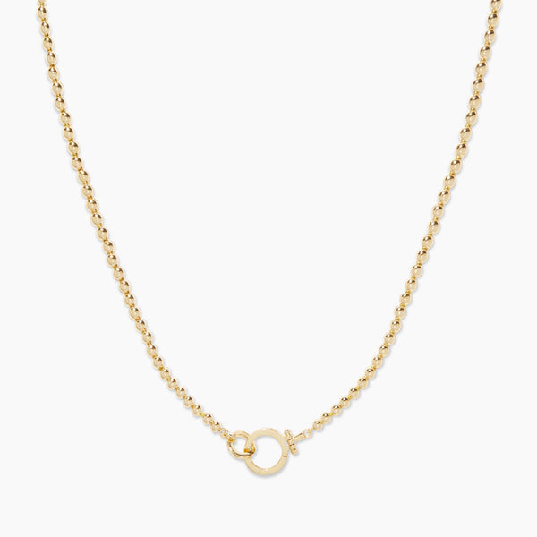 Parker Bead Necklace - Gold - JL+KO