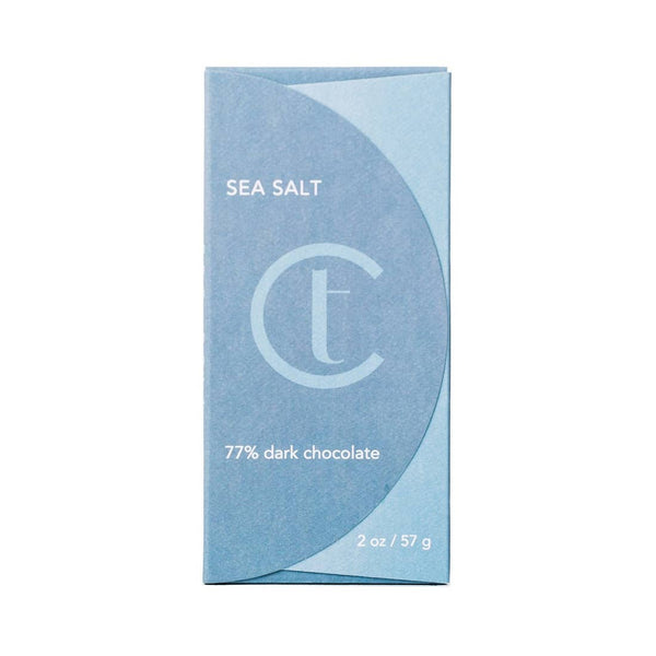 Sea Salt 77% Dark Chocolate - JL+KO