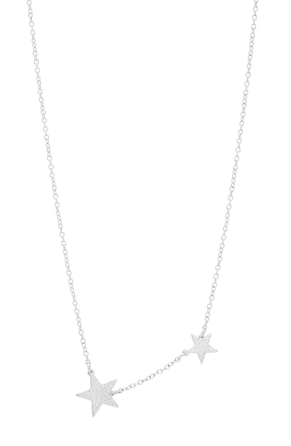 Super Star Necklace - Silver