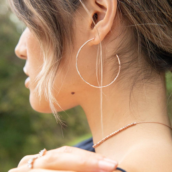 Taner Hoops - Gold