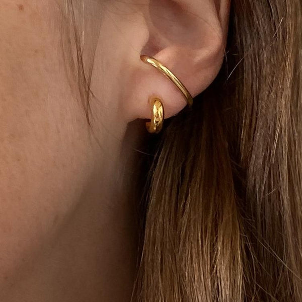 Vince Hoop Earrings - JL+KO