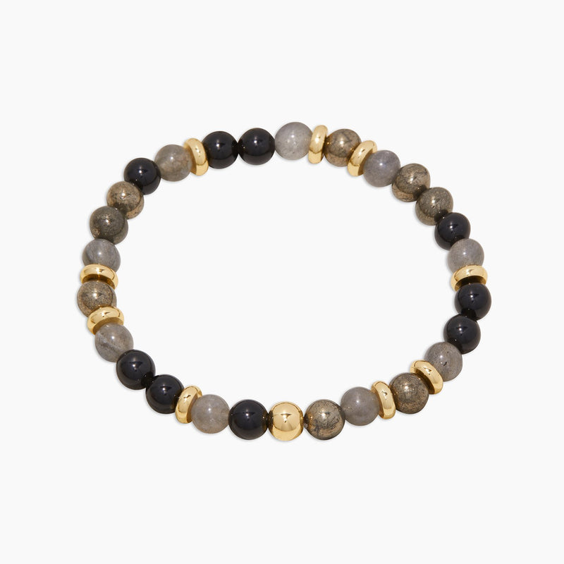 Power Gemstone Mantra Bracelet - Virtue - JL+KO
