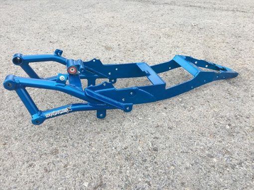 StunterX 03-04 ZX6 to 09-18 ZX6 Conversion Subframe