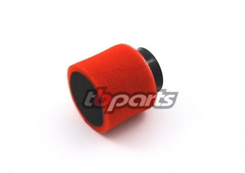 TB Parts-  AFT Carb- Air Filter, Foam Dual Layer 20mm/24mm