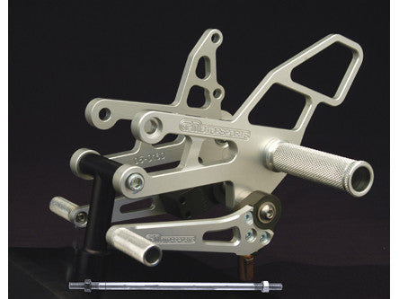 Woodcraft ZX6 1998-2000 / ZX9 1998-2003 / ZZR600 2005-2008 Complete Rearset Kit W/Shift & Brake Pedals: Kawasaki - Tacticalmindz.com