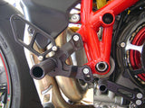 Woodcraft 1198SP 2011 / 848 Evo 2011-2013 Complete Rearset Kit (Factory GP Quick Shifter): Ducati