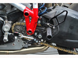 Woodcraft 848/1098/1198 Complete Rearset Kit Black: Ducati - Tacticalmindz.com