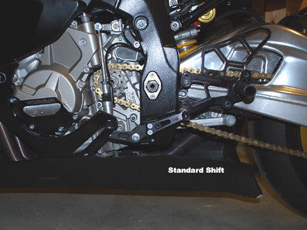 Woodcraft S1000RR 2010+ Rearset Kit- Race Only: BMW