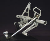 Woodcraft CBR1000RR '04-07 Complete Rearset Kit W/Shift & Brake Pedals: Honda