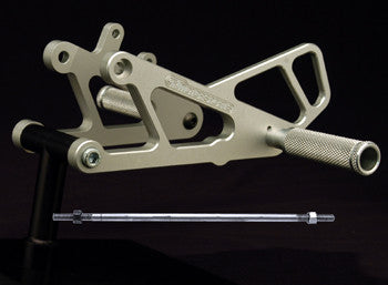 Woodcraft RS250 Rearsets: Aprilia