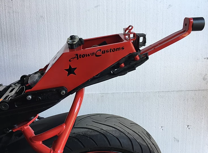 Atown Customs 06-07 GSXR Subframe