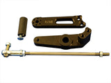 Woodcraft Daytona 675/R STD Shift Rearset Conversion Kit: Triumph