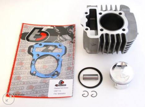 TB Parts - TBW 9138 - 132CC 55MM BIG BORE KIT - HONDA CRF110